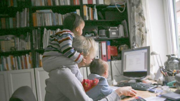 Εργαζόμενη μάνα