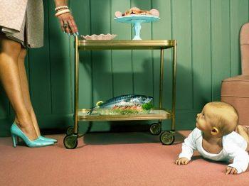 Για σήμερα έχουμε μίσχους γουλιών και γκοτζιμπέρι - η μάνα έχει τη δική της υστερία