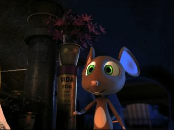 Το ποντικάκι που ήθελε να αγγίξει ένα αστεράκι