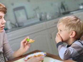 άρνηση του παιδιού να φάει