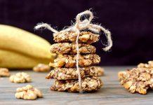 Σπιτικά cookies μπανάνας