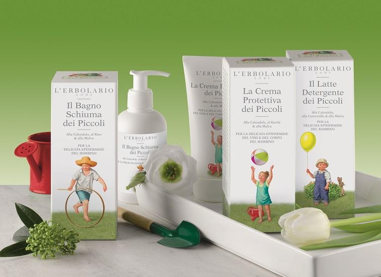 L'Erbolario : Υπέροχη σειρά φροντίδας για το μωρό - που ζηλεύει και η μαμά