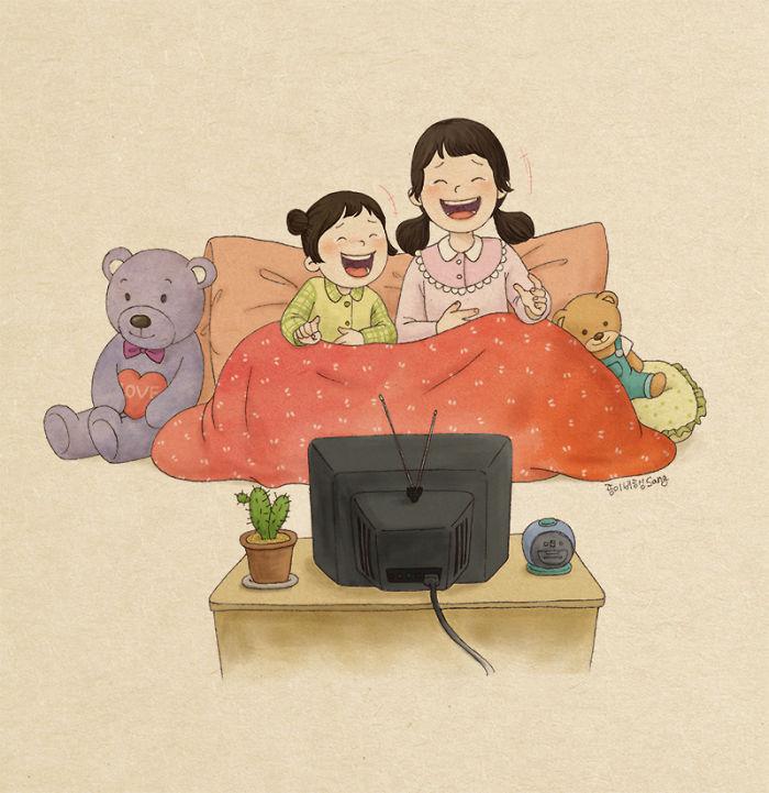 20 σκίτσα για όσους έχουν μεγαλώσει με μικρότερα αδέρφια