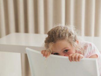 ντροπαλό - διστακτικό παιδί