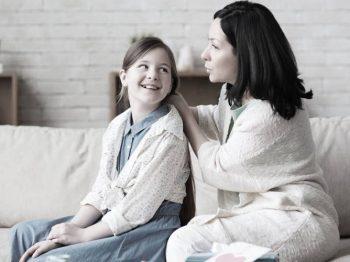 Λόγια που γαληνεύουν τα παιδιά και τα σμίγουν με τους γονείς - ένα παράδειγμα