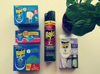 εντομοκτόνων προϊόντων Raid