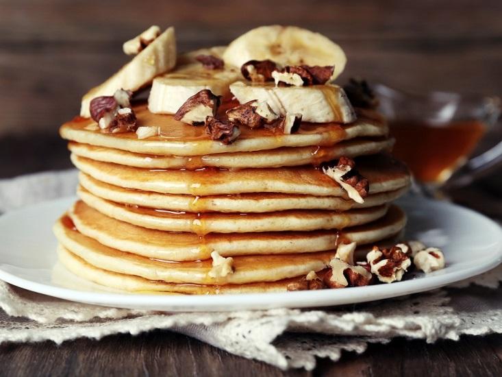 pancakes με βρώμη