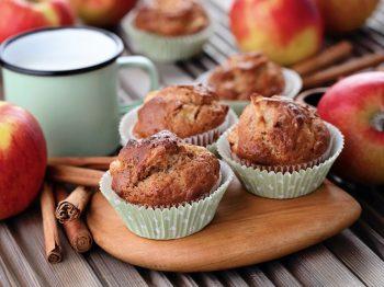 Muffins με νιφάδες βρώμης