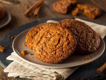 Μπισκότα με ginger και κανέλα