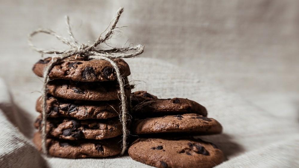 Μπισκότα με ταχίνι και κακάο