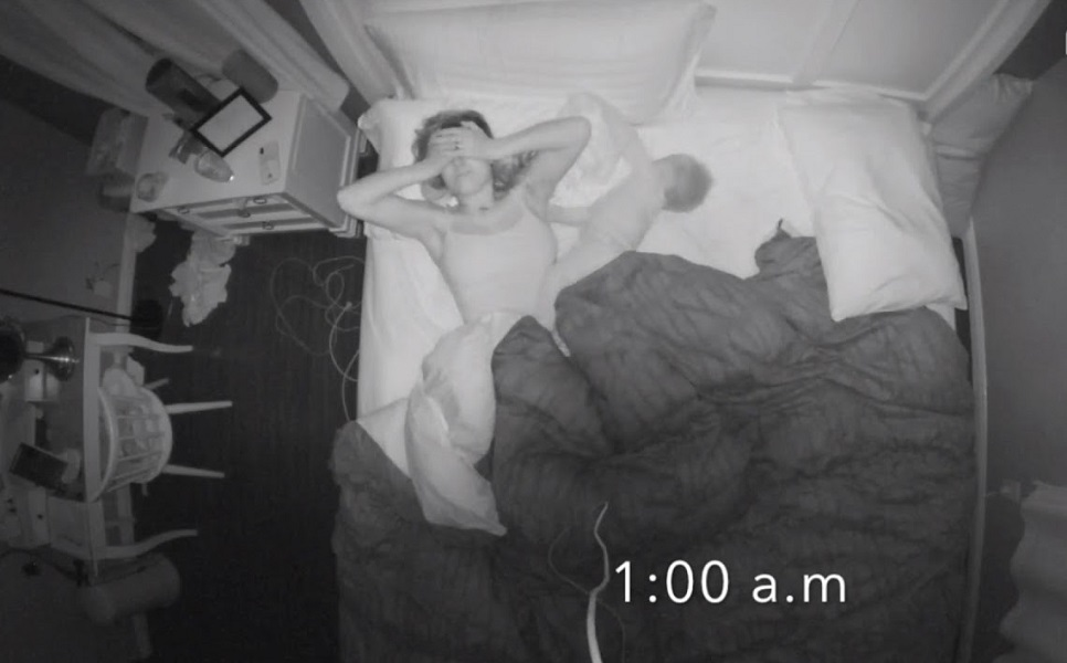 η μαμά ξυπνά