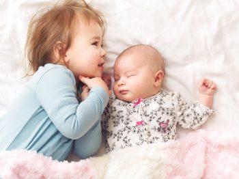 τα πρώτα δύο χρόνια με 2 παιδιά