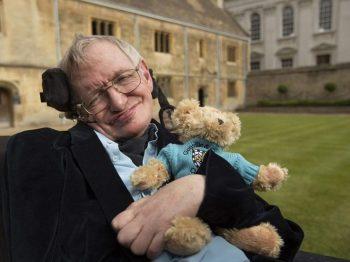 μήνυμα του Stephen Hawking