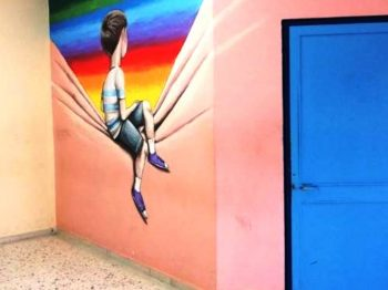 Τρίκαλα - Ένα σχολείο γεμάτο τέχνη και πίνακες ζωγραφικής