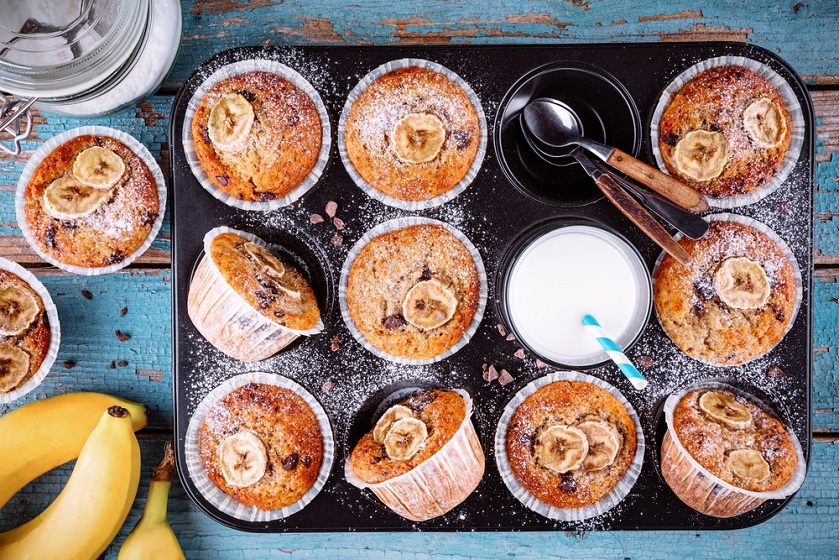 Muffins φρούτων
