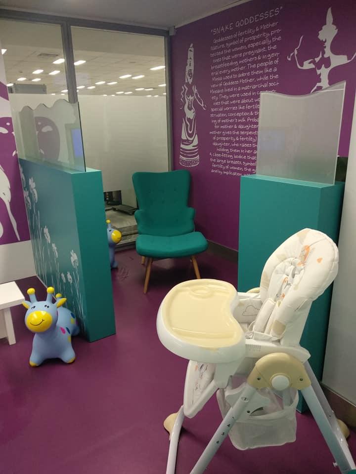 Το αεροδρόμιο Ηρακλείου απέκτησε παιδότοπο και χώρο θηλασμού!