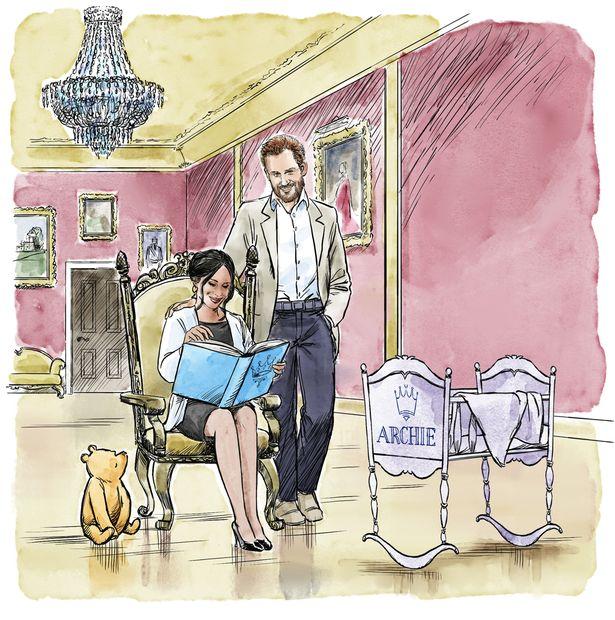 μωρό της Μέγκαν Μαρκλ και του πρίγκιπα Χάρι