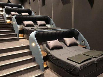 σινεμά με έντεκα διπλά κρεβάτια
