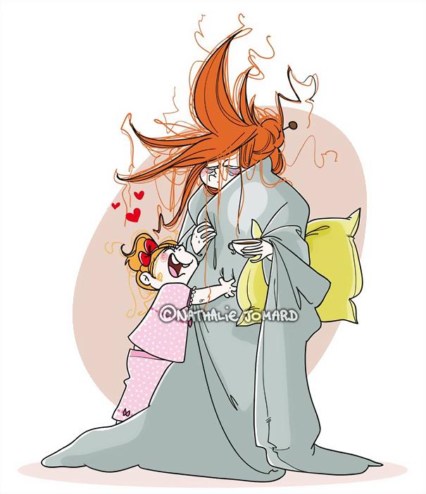 Η καθημερινότητα μιας μαμάς μέσα από 10 χιουμοριστικά σκίτσα - εικόνα 3