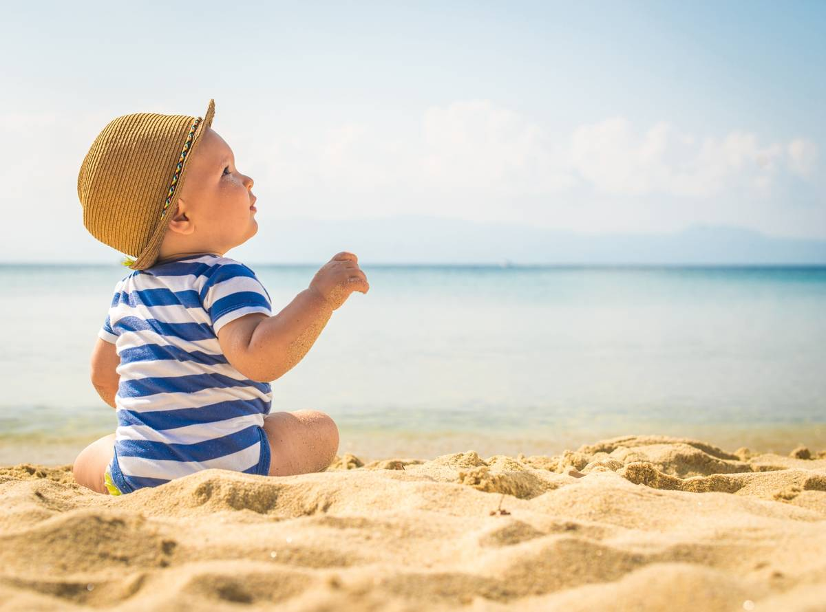 αντηλιακή προστασία των παιδιών