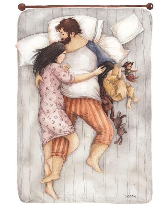 Η αγάπη του μπαμπά μέσα από 20 υπέροχα σκίτσα της Soosh
