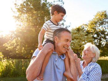 διακοπές με τη γιαγιά και τον παππού