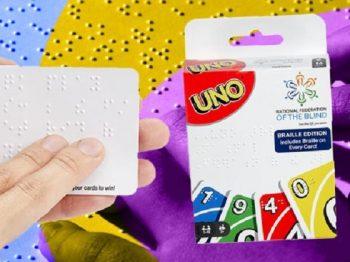 Το UNO τώρα και σε braille!