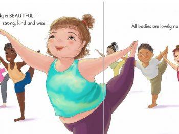 Tο πρώτο body-positivity βιβλίο για παιδιά είναι γεγονός και αξίζει να μάθετε γι' αυτό!