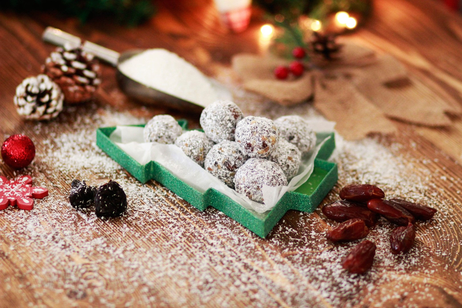 Χριστουγεννιάτικα τρουφάκια