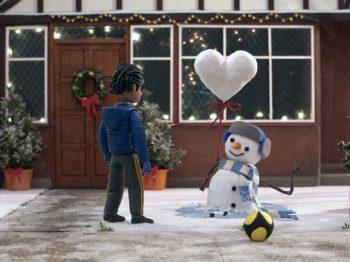 χριστουγεννιάτικη διαφήμιση