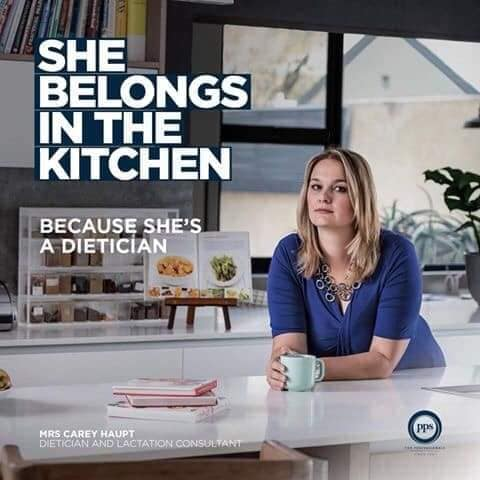 """""""Η θέση της είναι στην κουζίνα"""" - Μια εξαιρετική καμπάνια για την υπέρβαση των έμφυλων στερεοτύπων"""
