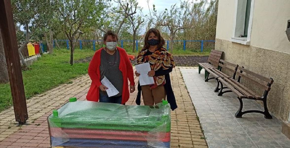 Αντιβακτηριδιακά κρεβάτια για τα νηπιαγωγεία του δήμου Πλατανιά - μια υπέροχη πρωτοβουλία
