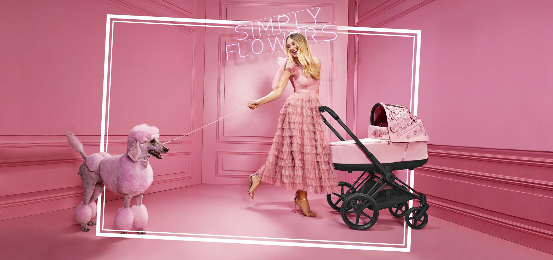 Η CYBEX παρουσιάζει ένα σύγχρονο παραμύθι: Τη νέα fashion συλλογή simply flowers