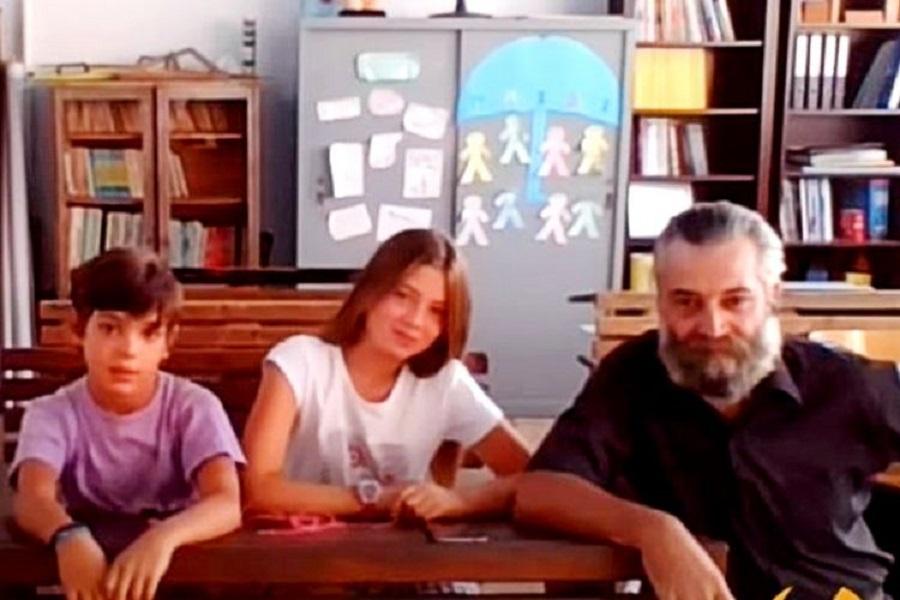 Αντικύθηρα: Ο συγκινητικός αγιασμός στο δημοτικό σχολείο του νησιού με μόνο 2 μαθητές