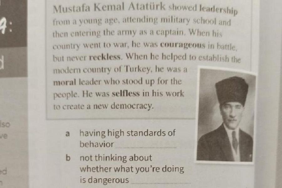 Κύπρος: Αποσύρεται σχολικό βιβλίο με αναφορά στον Κεμάλ Ατατούρκ