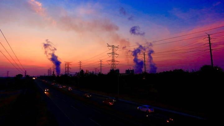 Η ρύπανση του αέρα