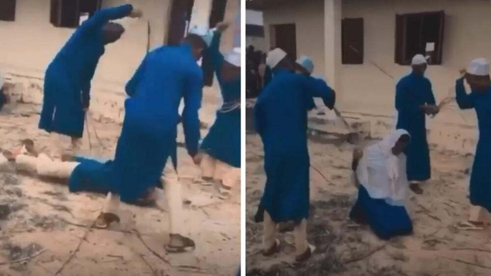 Νιγηρία: Δάσκαλοι μαστιγώνουν μαθήτρια γιατί φέρεται να κατανάλωσε αλκοόλ - Το ζήτησε ο πατέρας της